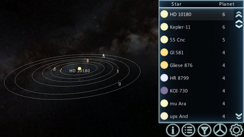 Exoplanet App - Pics about space
