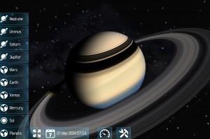Solar Explorer 2 Saturn