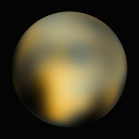 The best Hubble photo of Pluto, soon to improved upon by New Horizons