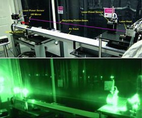 A demonstration of laser propulsion