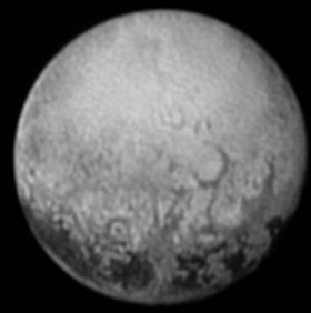 The far side of Pluto. Credit: NASA/Johns Hopkins University Applied Physics Laboratory/Southwest Research Institute.